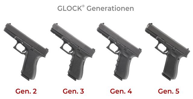 Generation Glock Pistolen